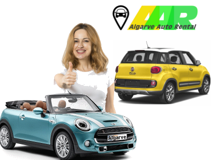 Faro car hire fleet for all needs